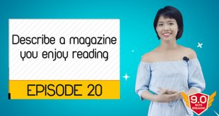 Describe-a-magazine-you-enjoy-reading